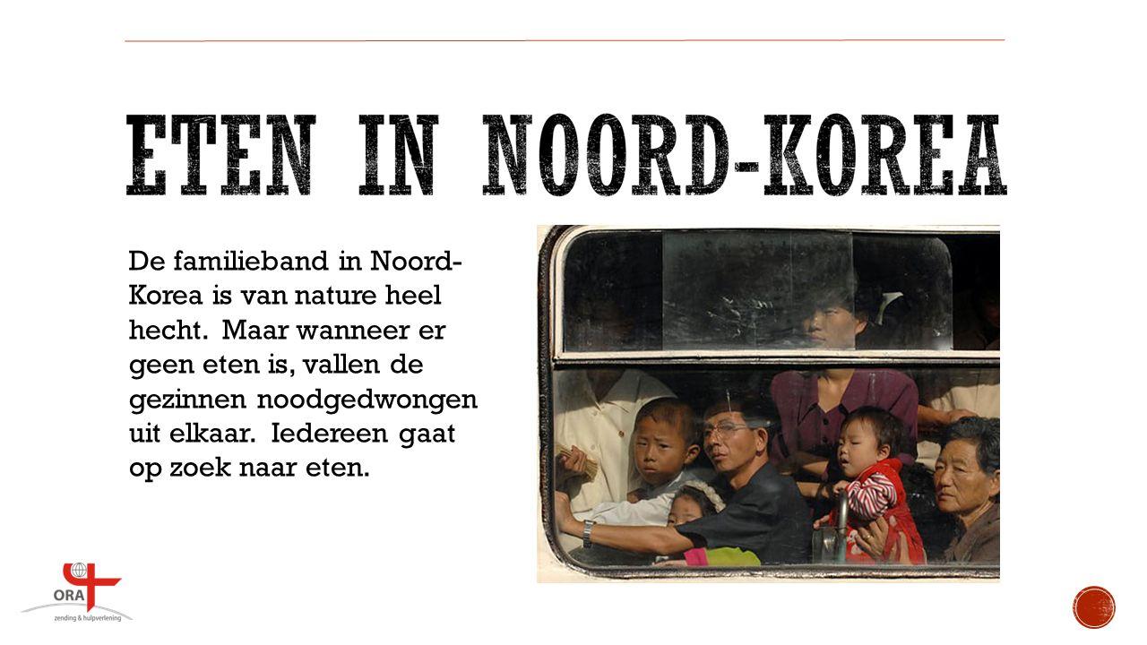 De familieband in Noord-Korea is van nature heel hecht