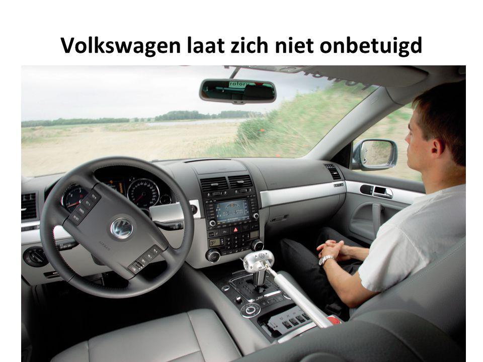 Volkswagen laat zich niet onbetuigd