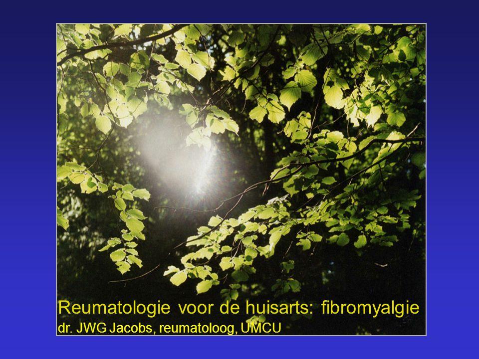 Reumatologie voor de huisarts: fibromyalgie