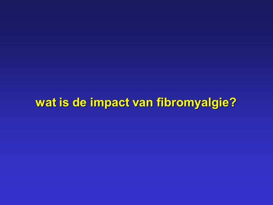 wat is de impact van fibromyalgie
