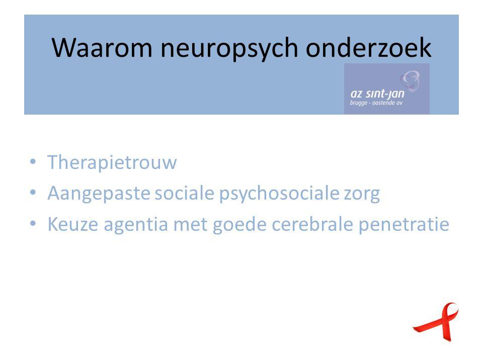 Waarom neuropsych onderzoek