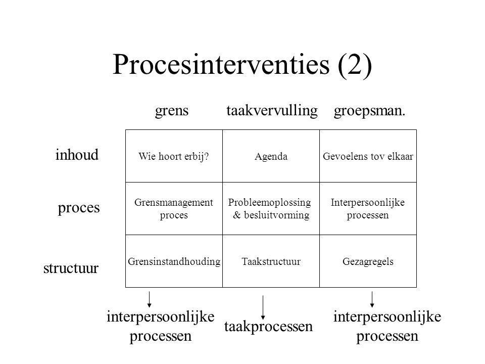Procesinterventies (2)