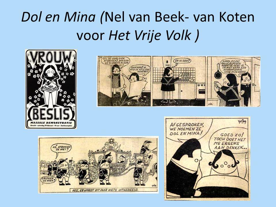 Dol en Mina (Nel van Beek- van Koten voor Het Vrije Volk )