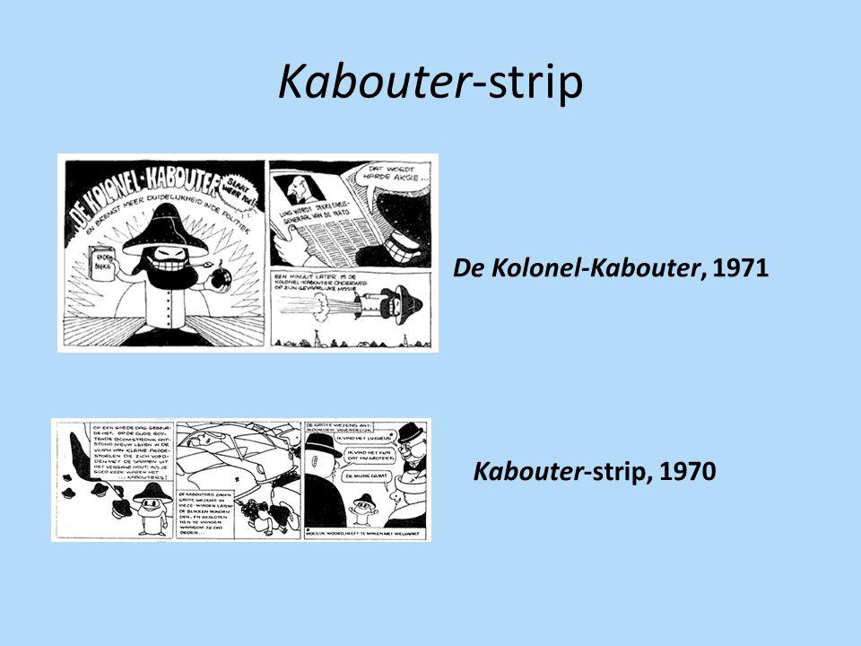Kabouter-strip De Kolonel-Kabouter, 1971 Kabouter-strip, 1970