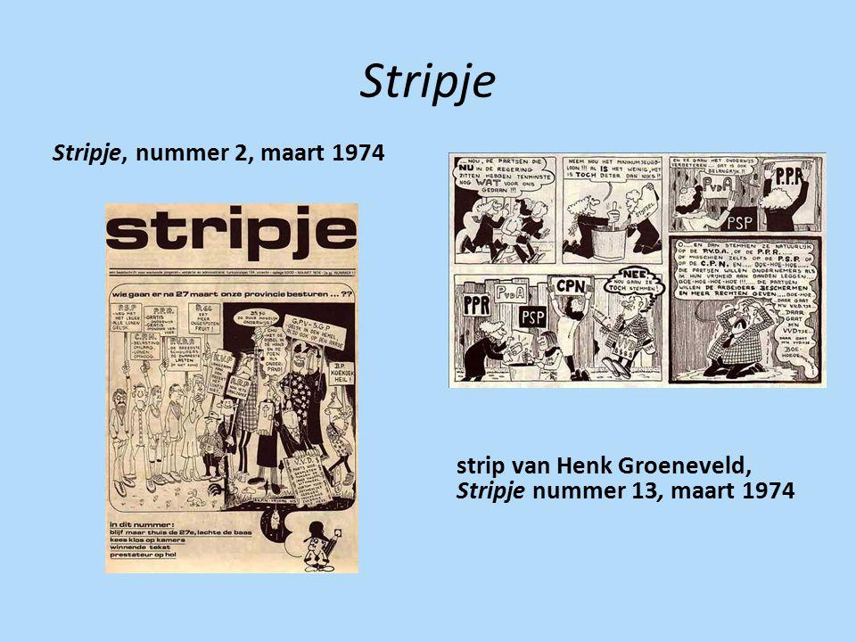 Stripje Stripje, nummer 2, maart 1974