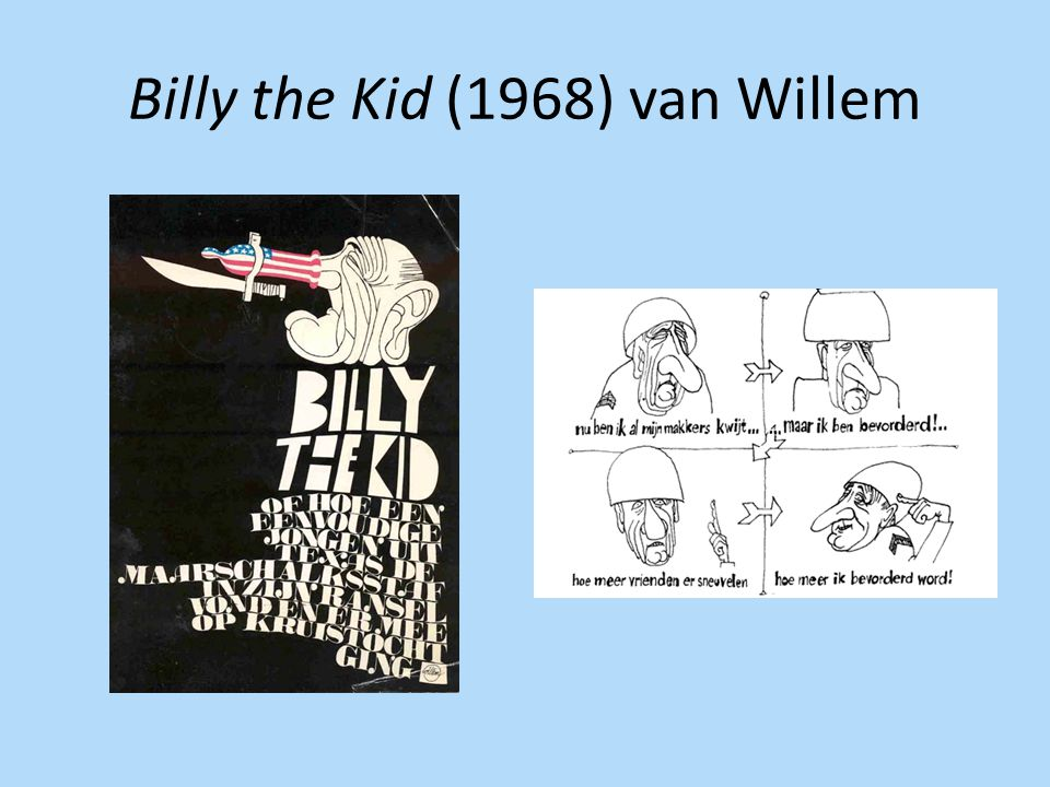 Billy the Kid (1968) van Willem