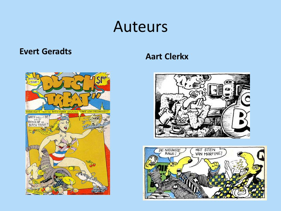 Auteurs Evert Geradts Aart Clerkx