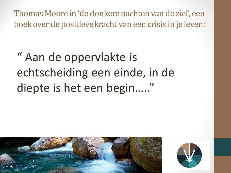 Thomas Moore in 'de donkere nachten van de ziel', een boek over de positieve kracht van een crisis in je leven: