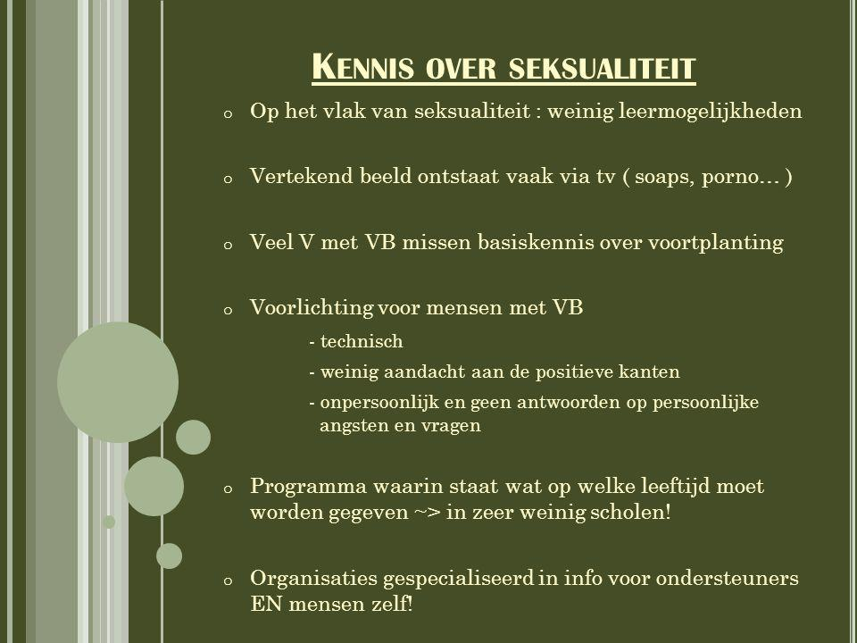 Kennis over seksualiteit