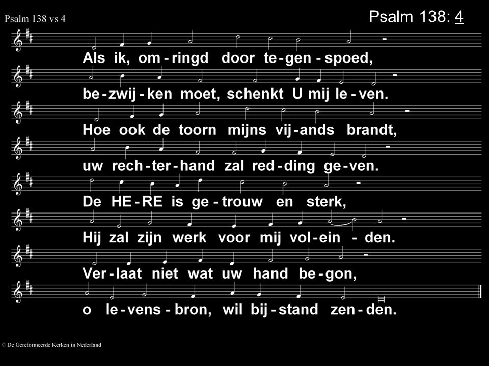 Psalm 138: 4