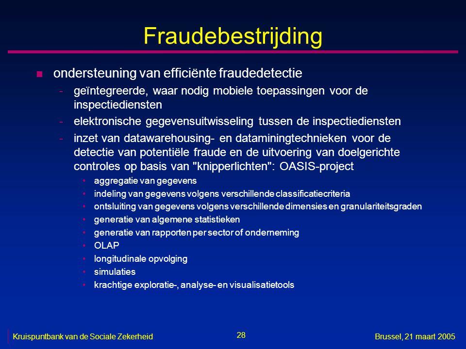Fraudebestrijding ondersteuning van efficiënte fraudedetectie