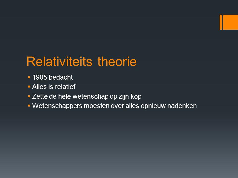 Relativiteits theorie