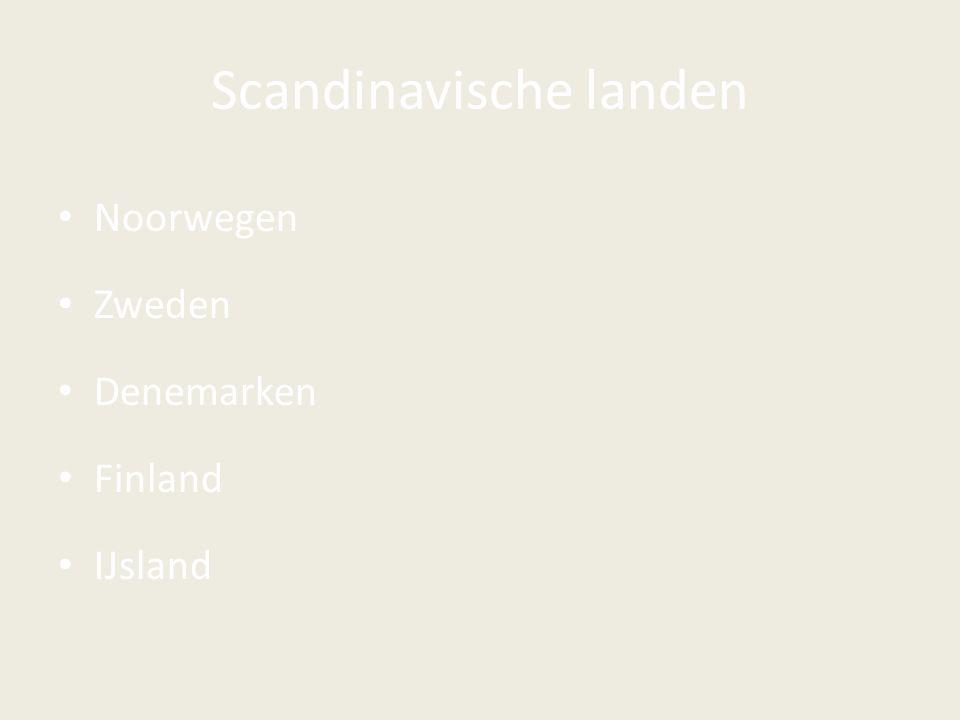 Scandinavische landen