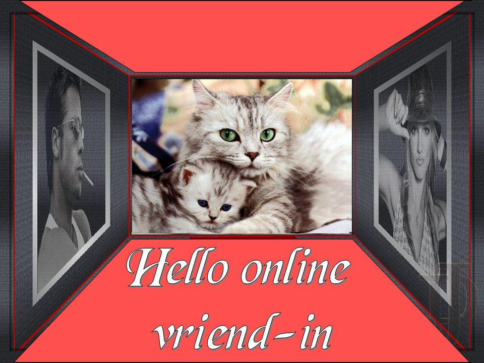 Hello online vriend-in