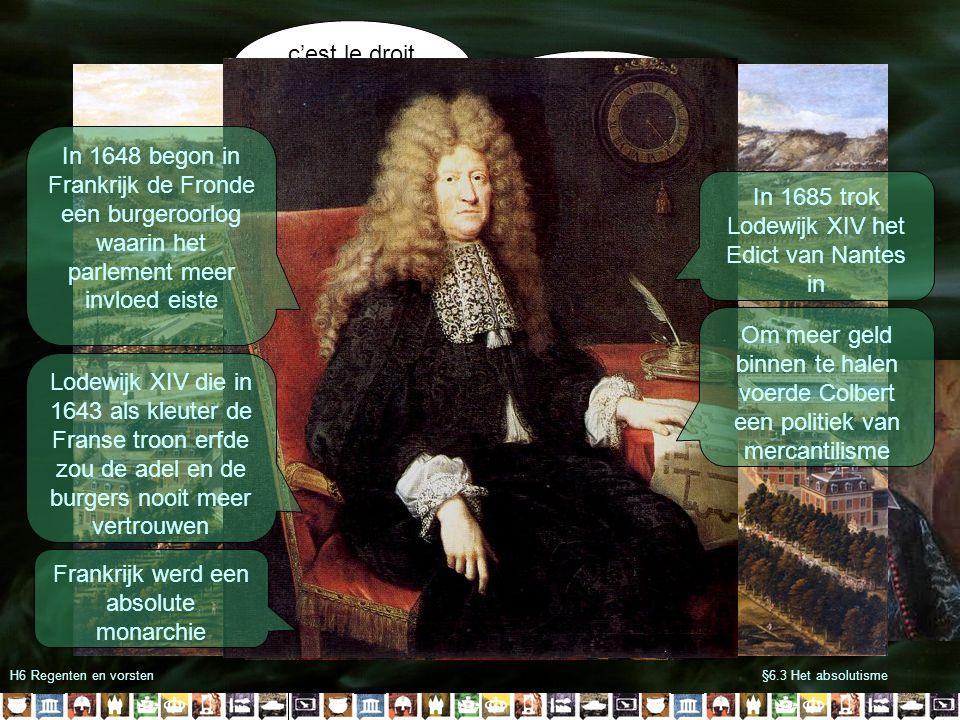 In 1685 trok Lodewijk XIV het Edict van Nantes in