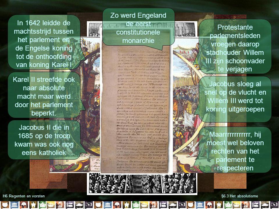 Zo werd Engeland de eerst constitutionele monarchie