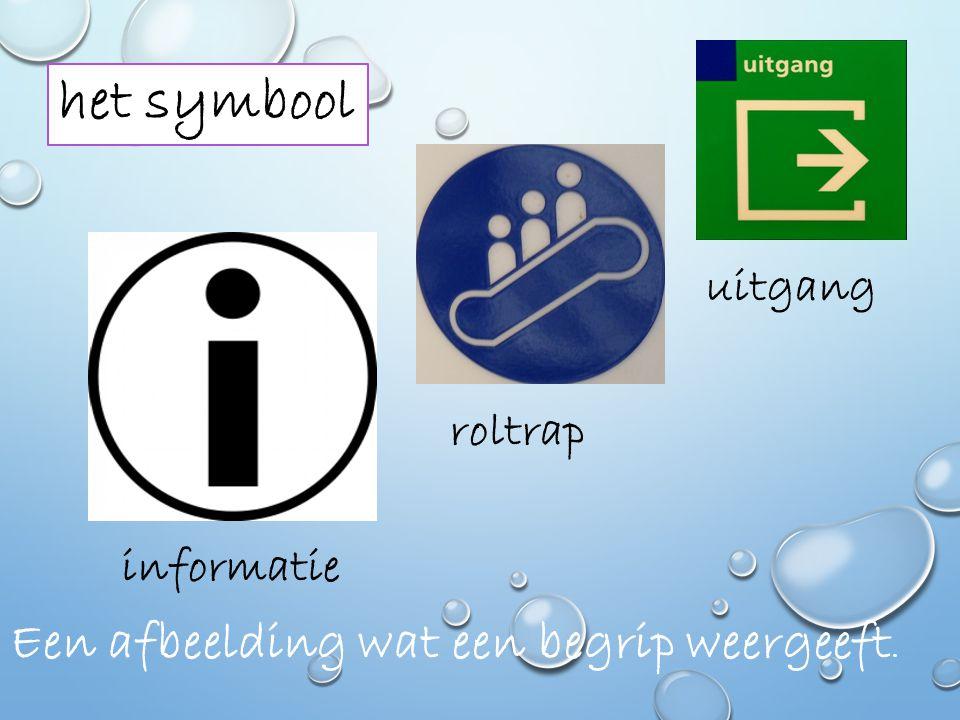 het symbool Een afbeelding wat een begrip weergeeft. uitgang roltrap