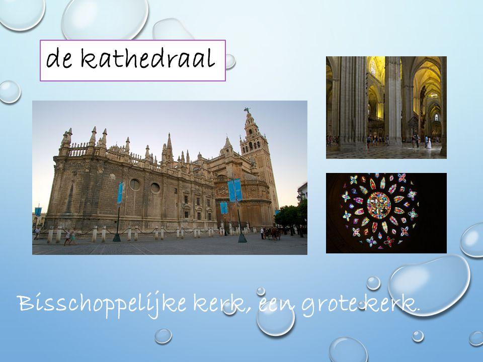 de kathedraal Bisschoppelijke kerk, een grote kerk.