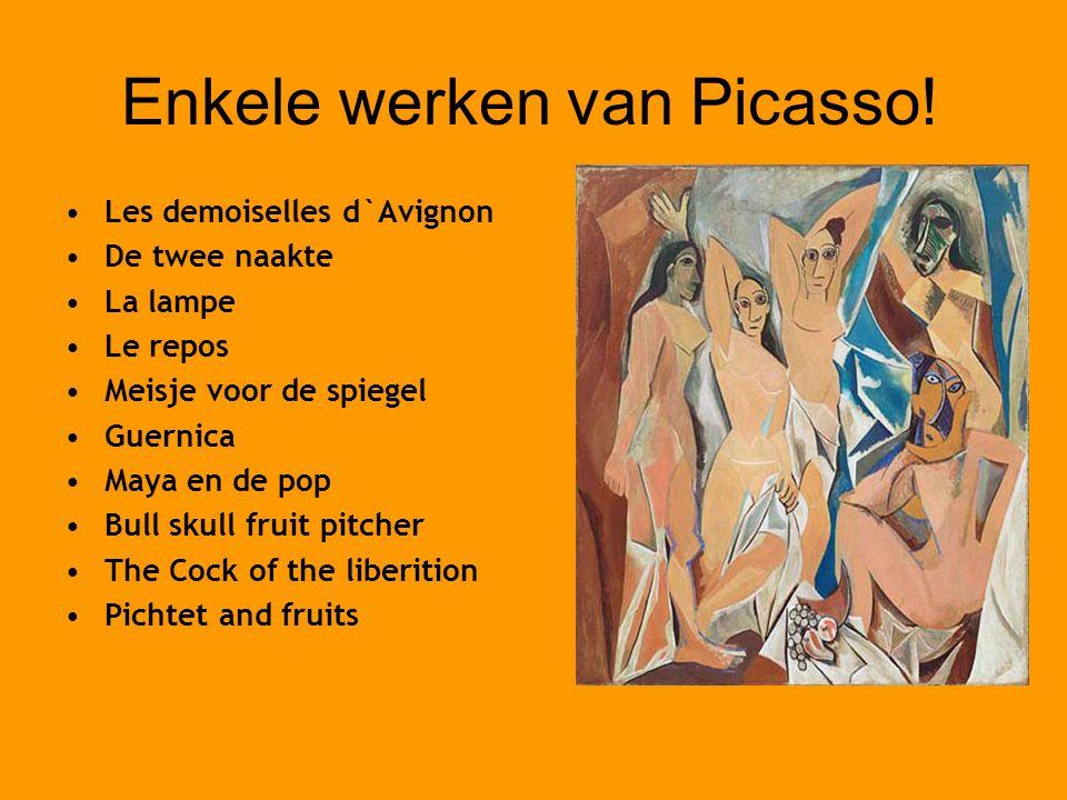 Enkele werken van Picasso!