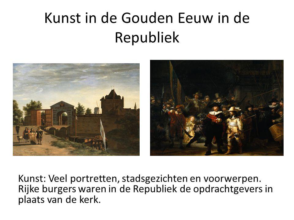 Kunst in de Gouden Eeuw in de Republiek