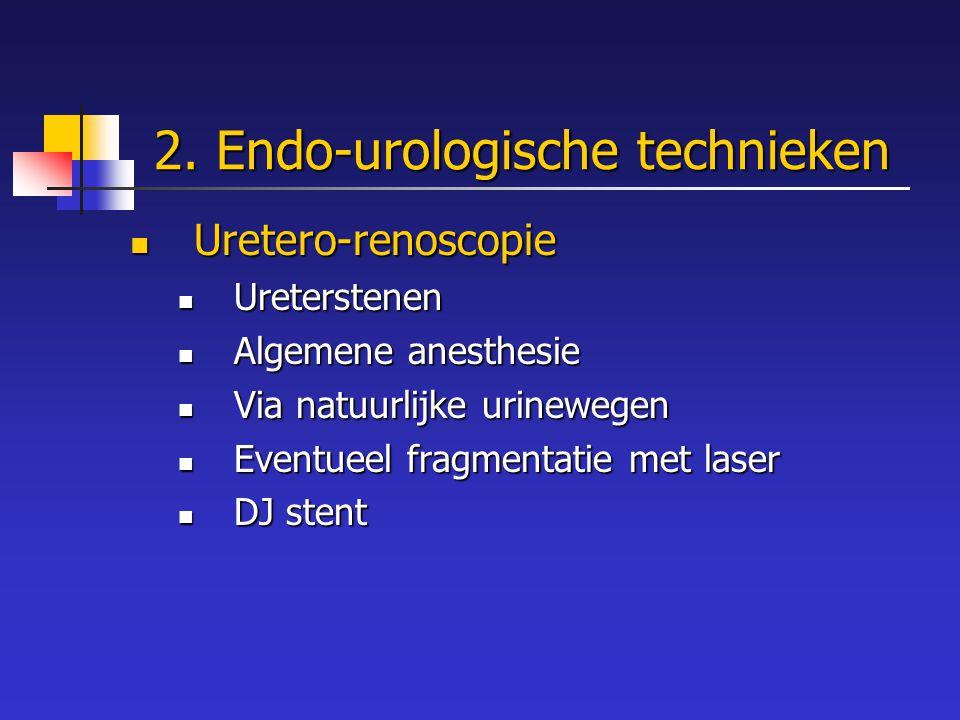 2. Endo-urologische technieken
