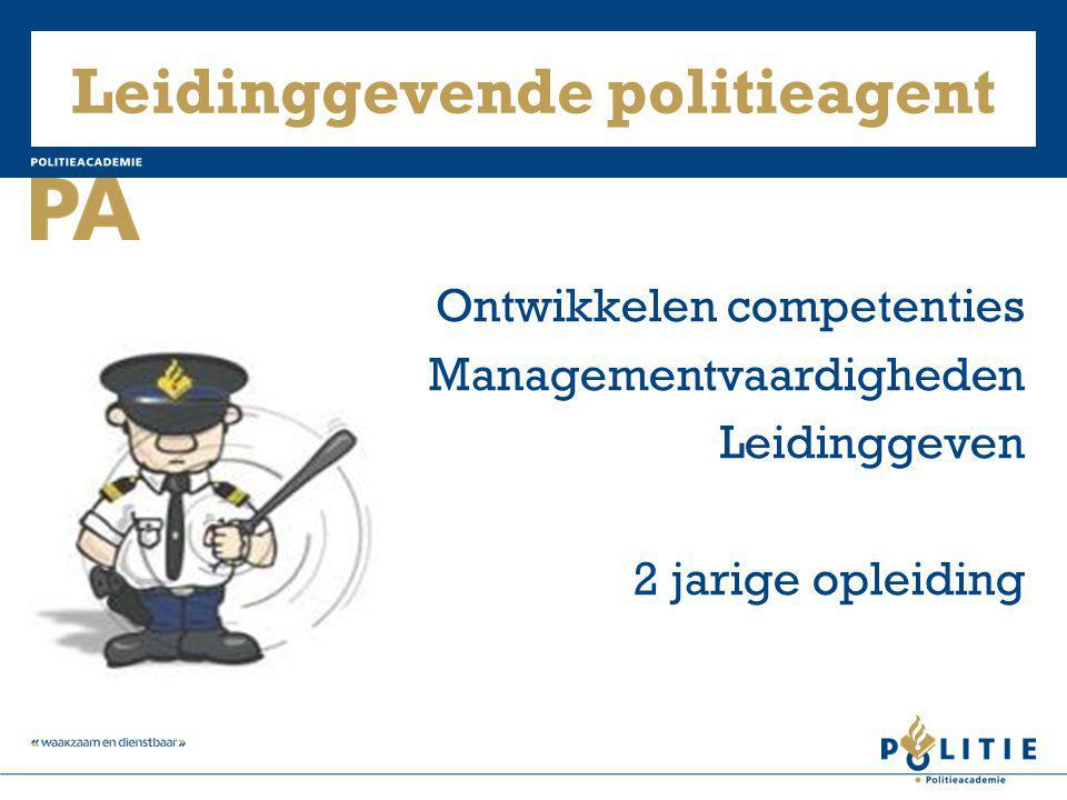 Leidinggevende politieagent