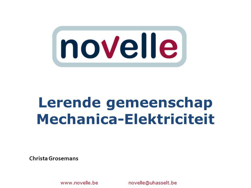 Lerende gemeenschap Mechanica-Elektriciteit