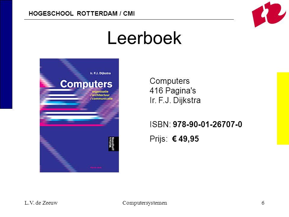 Leerboek Computers 416 Pagina s Ir. F.J. Dijkstra