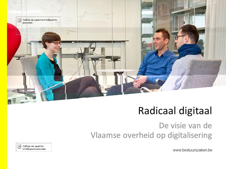 De visie van de Vlaamse overheid op digitalisering