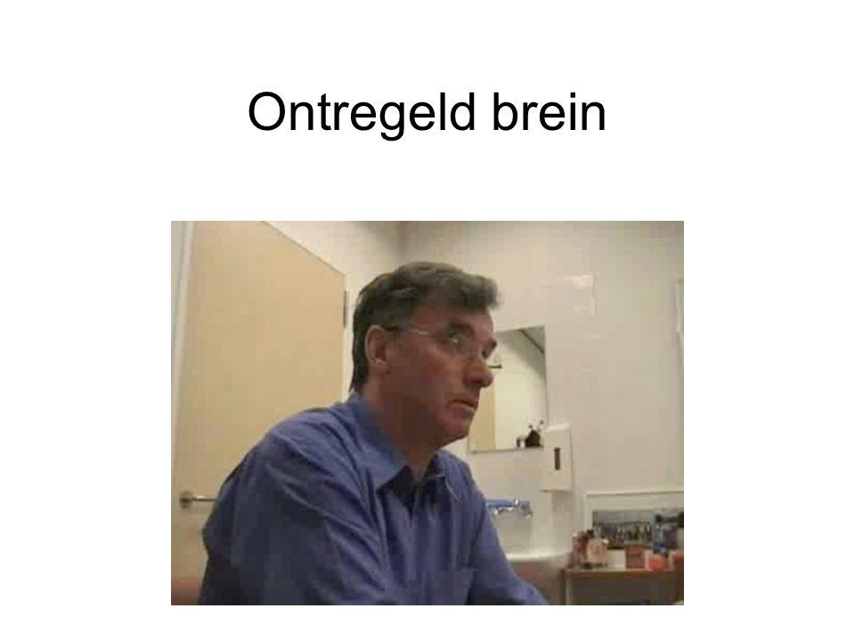 Ontregeld brein