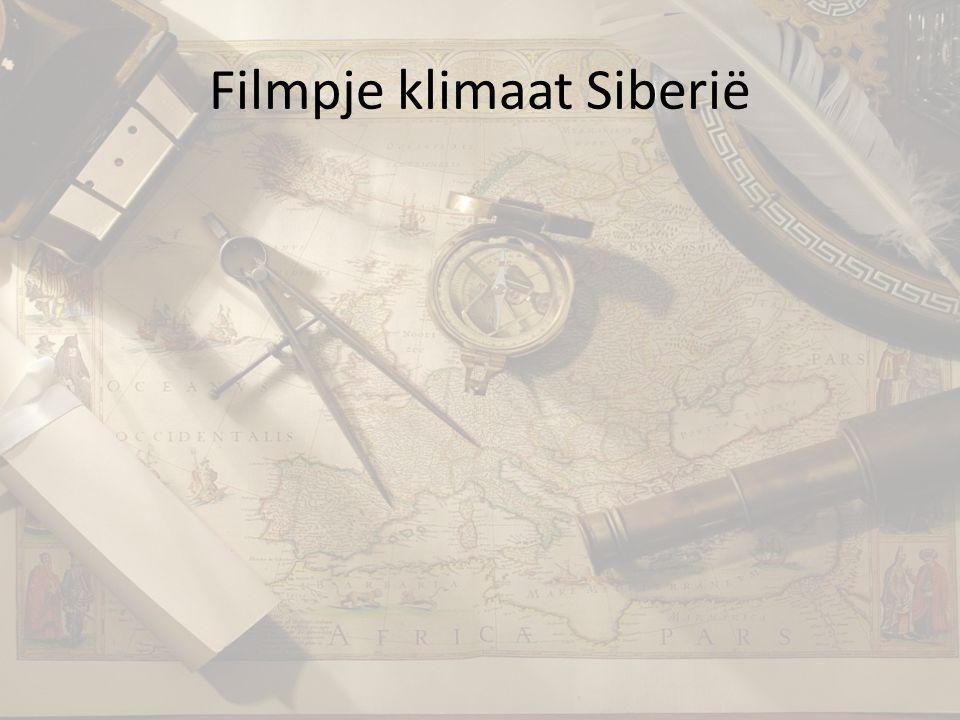 Filmpje klimaat Siberië
