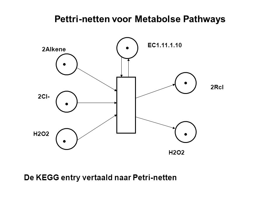 Pettri-netten voor Metabolse Pathways