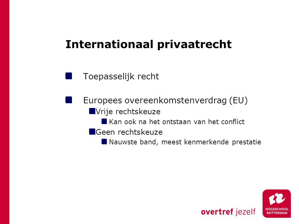 Internationaal privaatrecht
