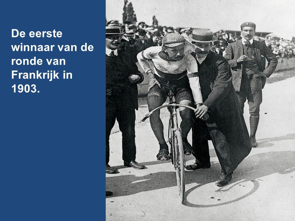 De eerste winnaar van de ronde van Frankrijk in 1903.
