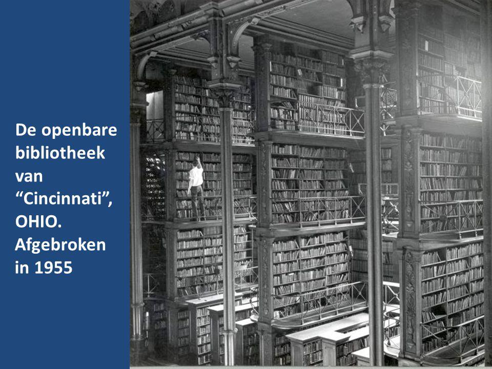 De openbare bibliotheek van Cincinnati , OHIO.