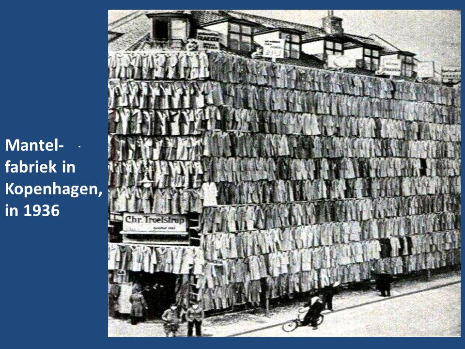 Mantel-fabriek in Kopenhagen, in 1936