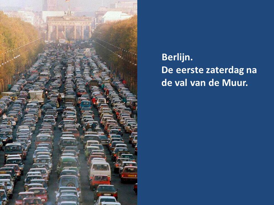 Berlijn. De eerste zaterdag na de val van de Muur.