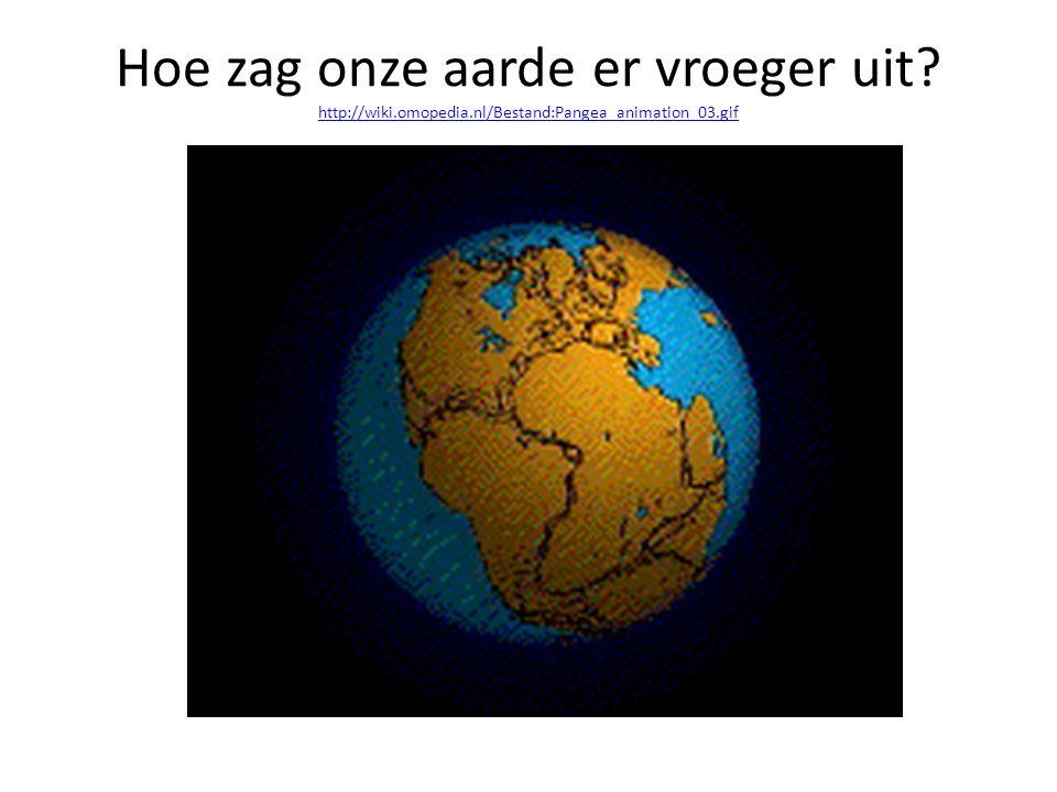Hoe zag onze aarde er vroeger uit. http://wiki. omopedia
