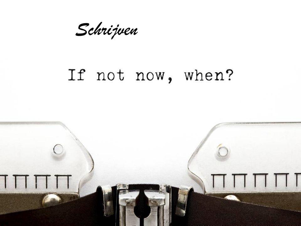 Schrijven Waarom is schrijven belangrijk Waarom wel/niet