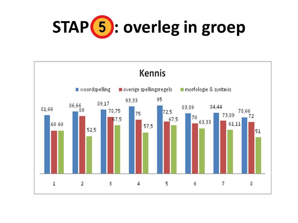 STAP : overleg in groep