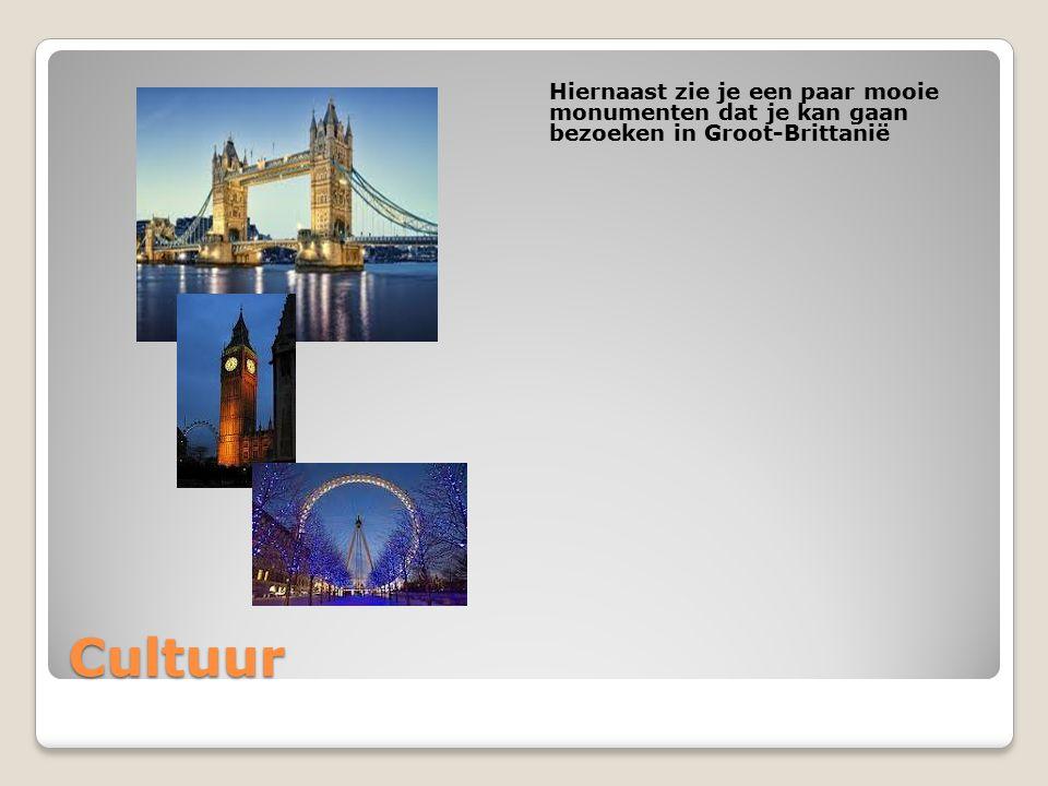 Hiernaast zie je een paar mooie monumenten dat je kan gaan bezoeken in Groot-Brittanië