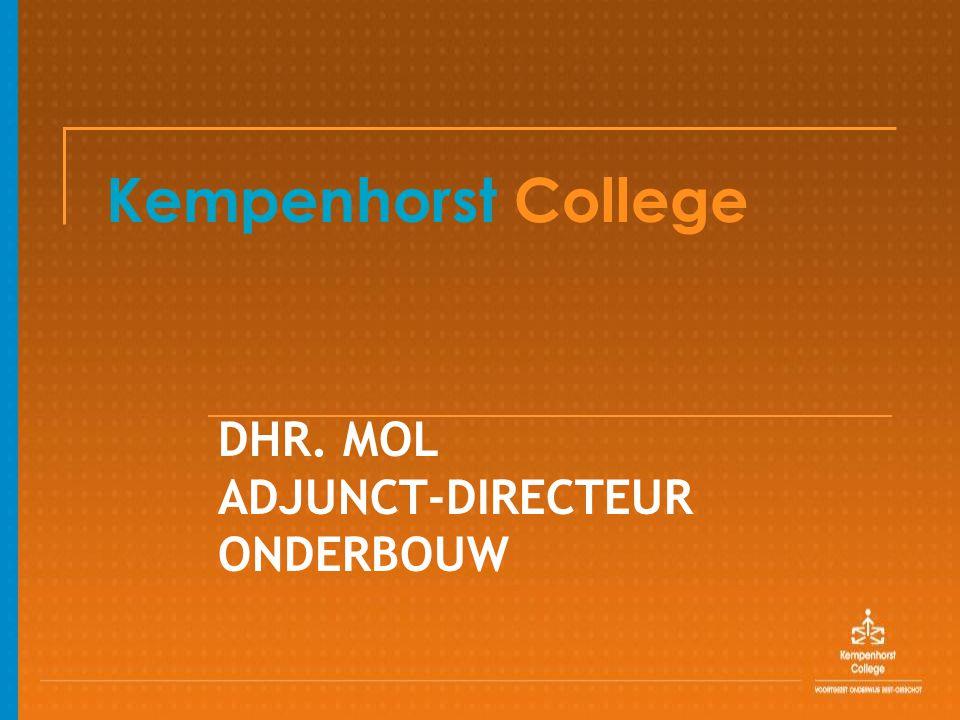 DHR. MOL ADJUNCT-DIRECTEUR ONDERBOUW