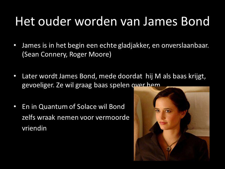 Het ouder worden van James Bond