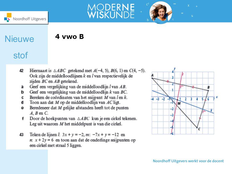 Nieuwe stof 4 vwo B 4 vwo B blz. 129
