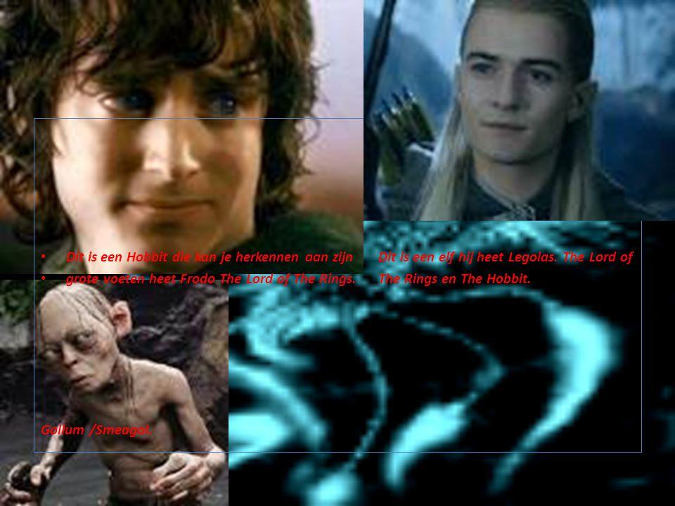 Dit is een Hobbit die kan je herkennen aan zijn