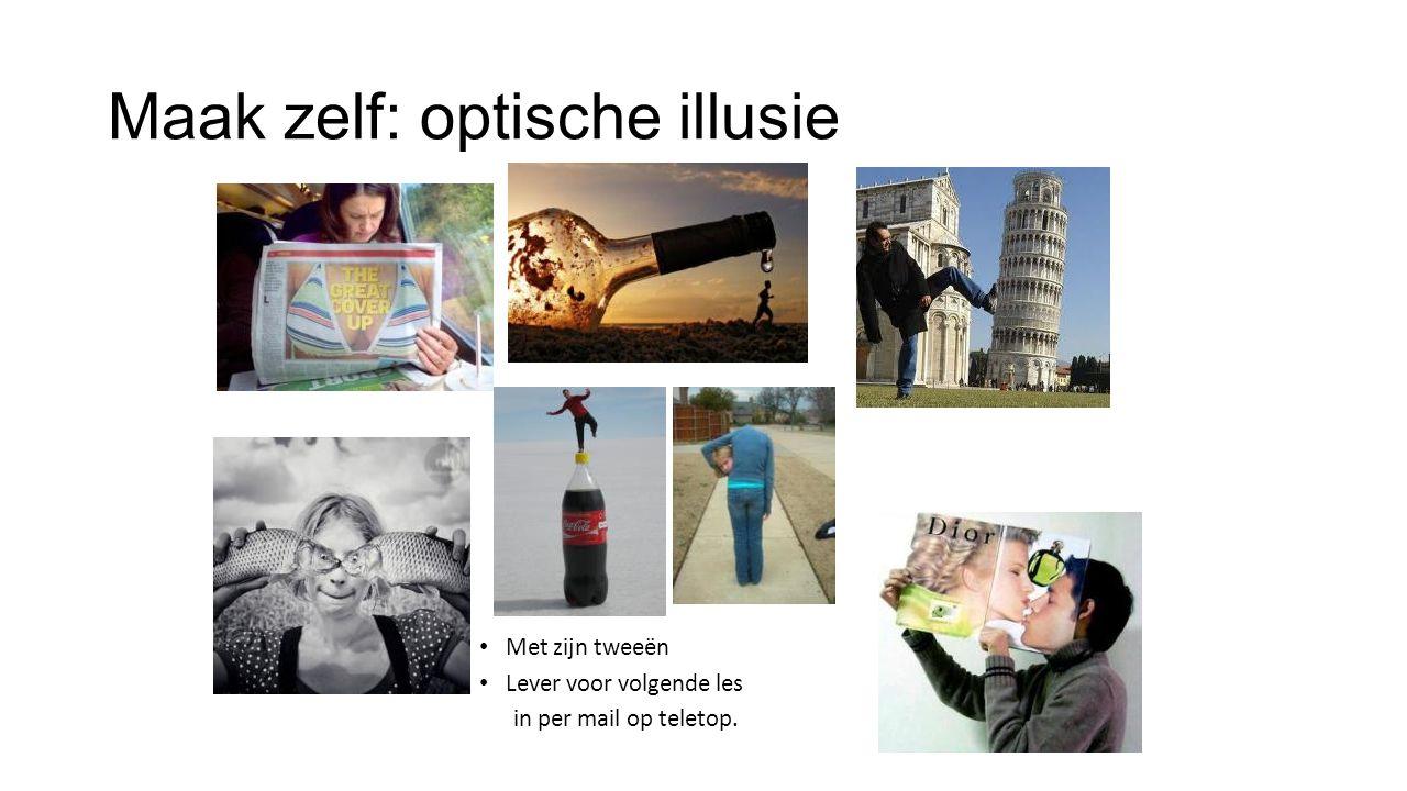 Maak zelf: optische illusie