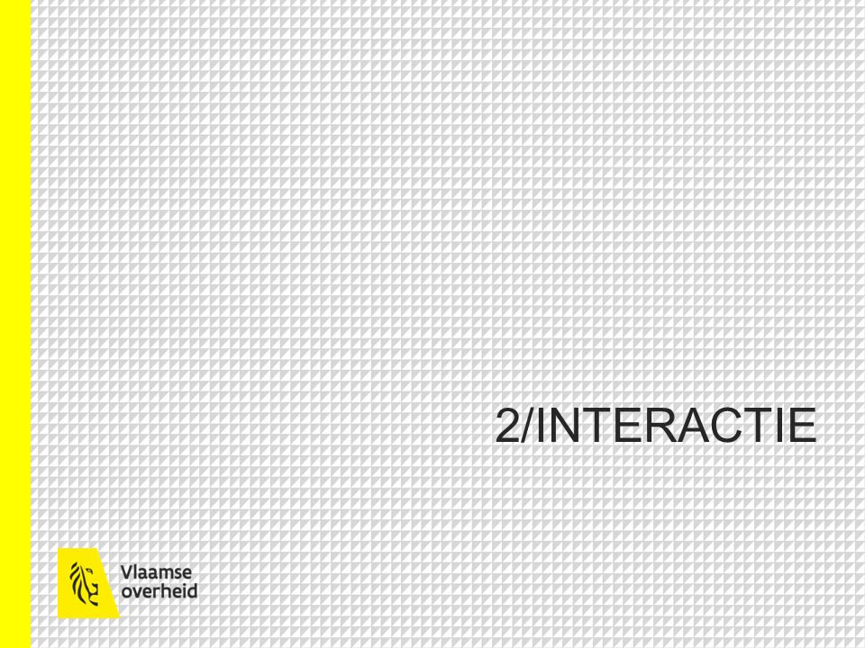 2/INTERACTIE