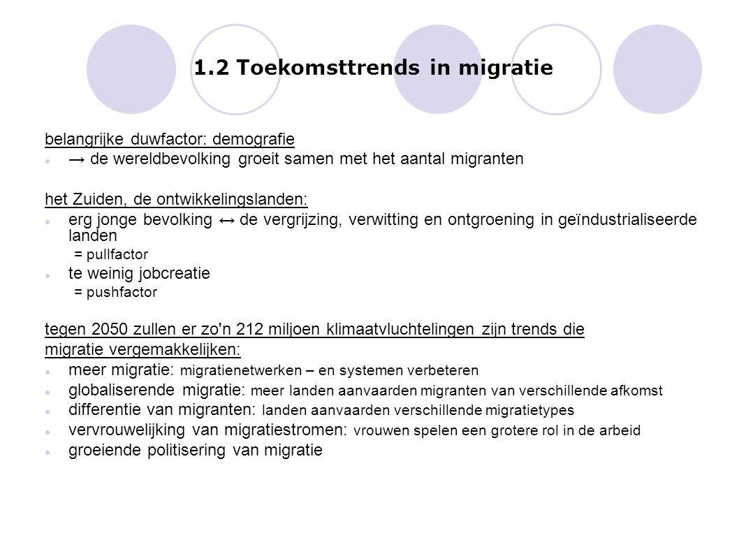 1.2 Toekomsttrends in migratie