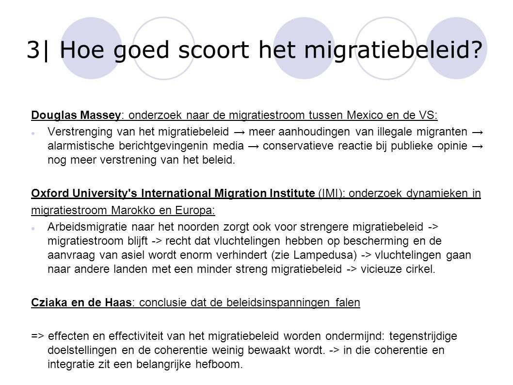 3| Hoe goed scoort het migratiebeleid