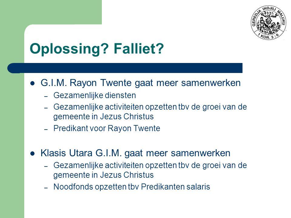 Oplossing Falliet G.I.M. Rayon Twente gaat meer samenwerken